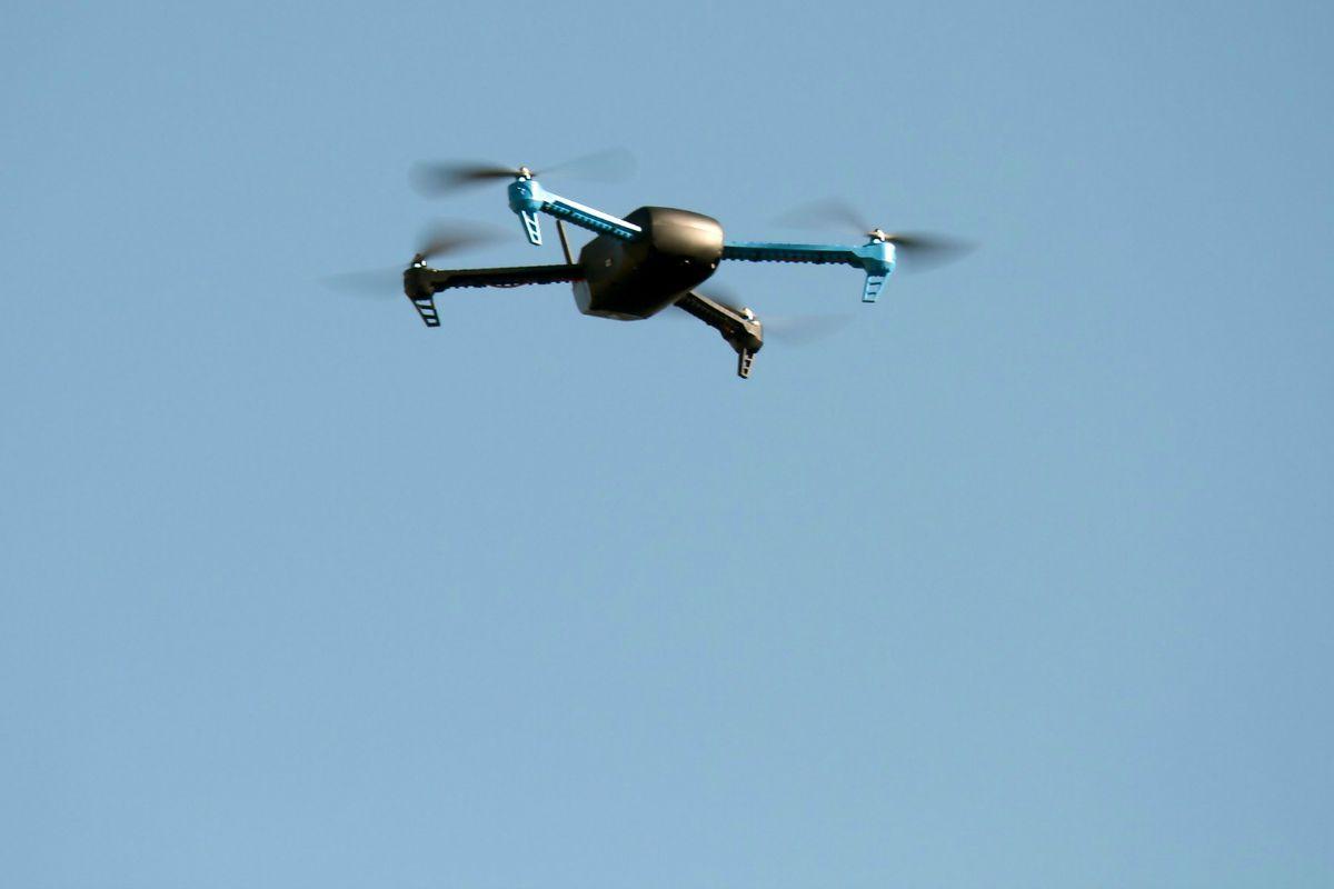 UAV flyover