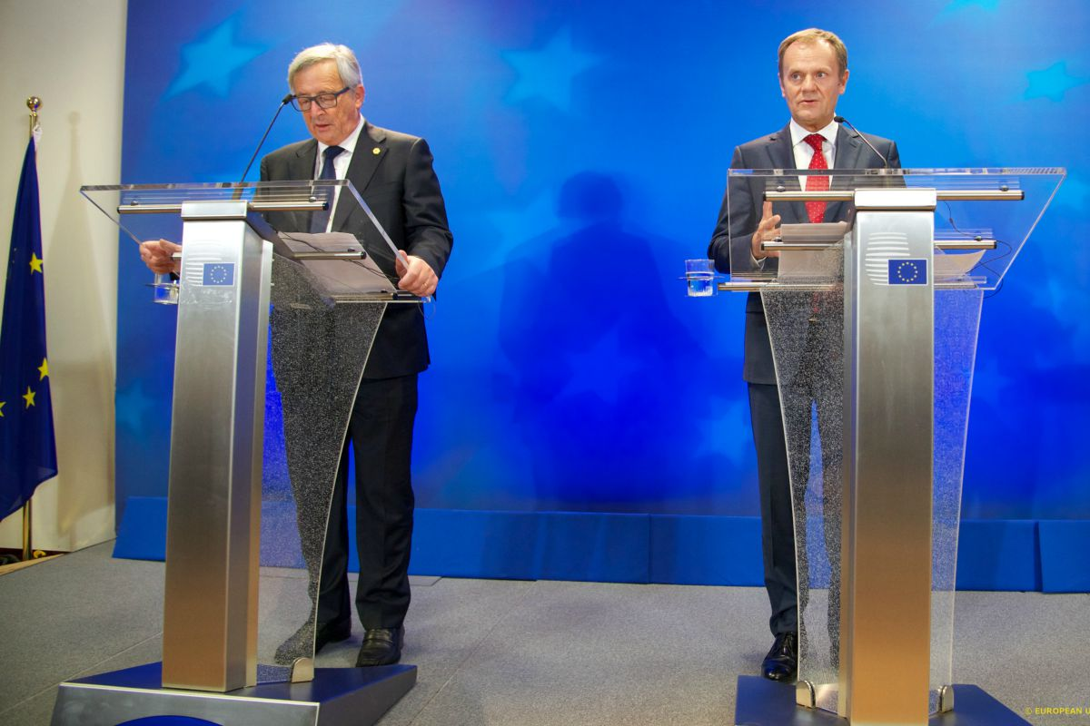Juncker and Tusk