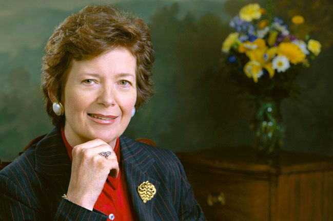 Mary Robinson interview