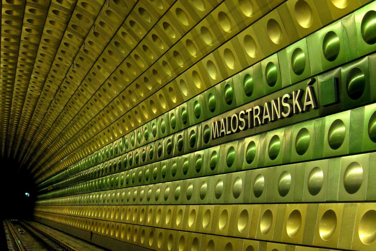 Malostranská metro station