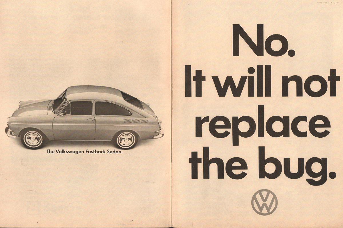 VW 1965 ad