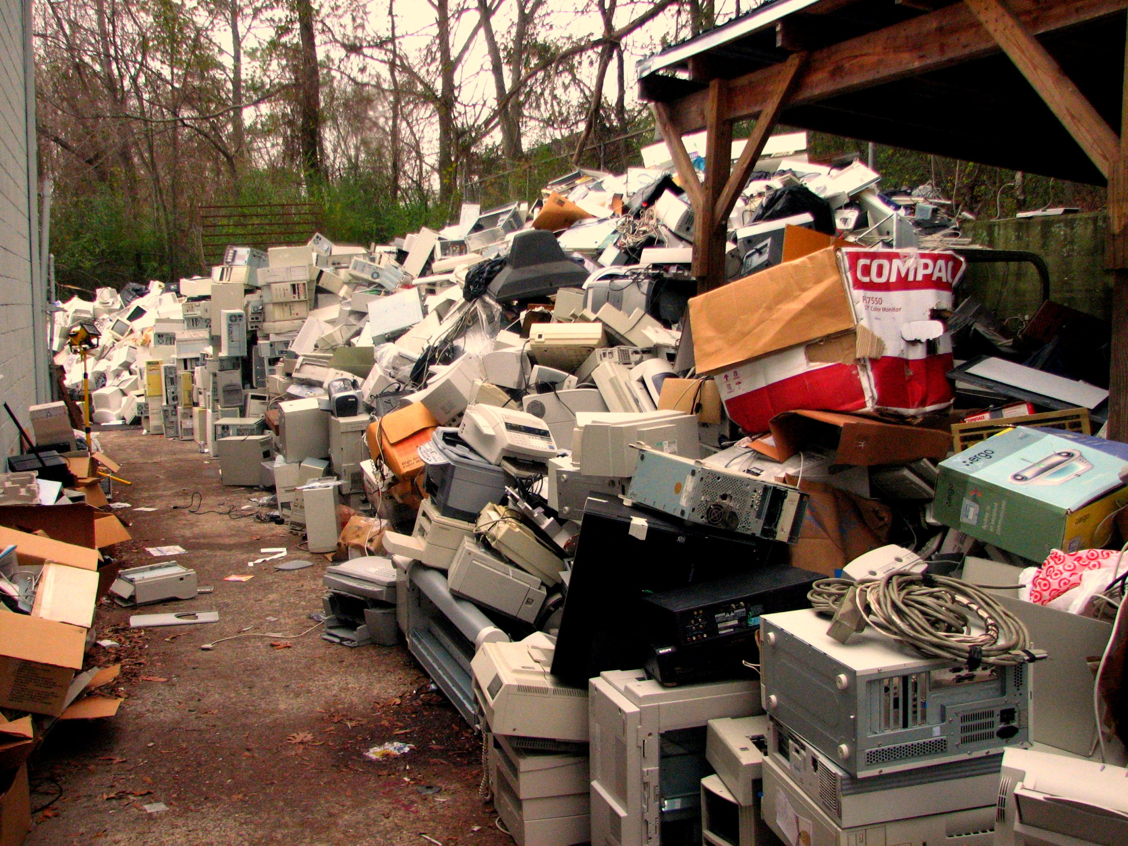 An e-Waste collection centre in South America [Photo: Curtis Palmer, Flickr]