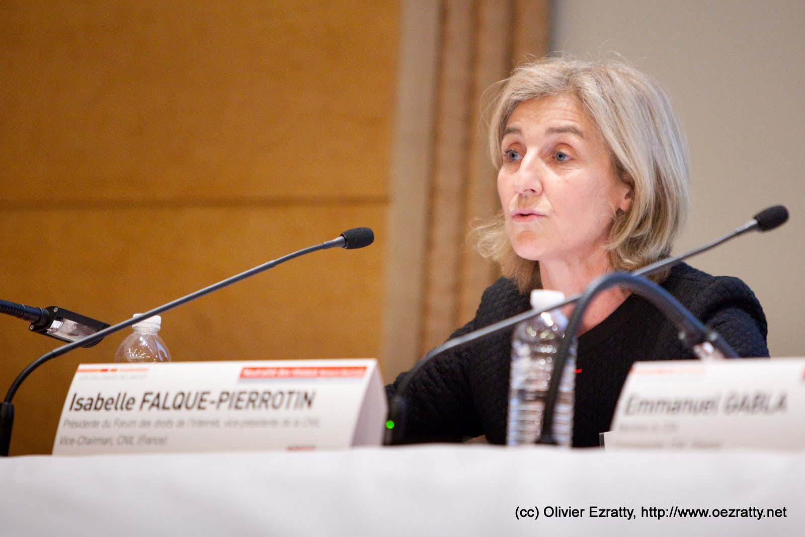 Isabelle Falque-Pierrotin, chair of the Article 29 working party and head of French data protection authority CNIL