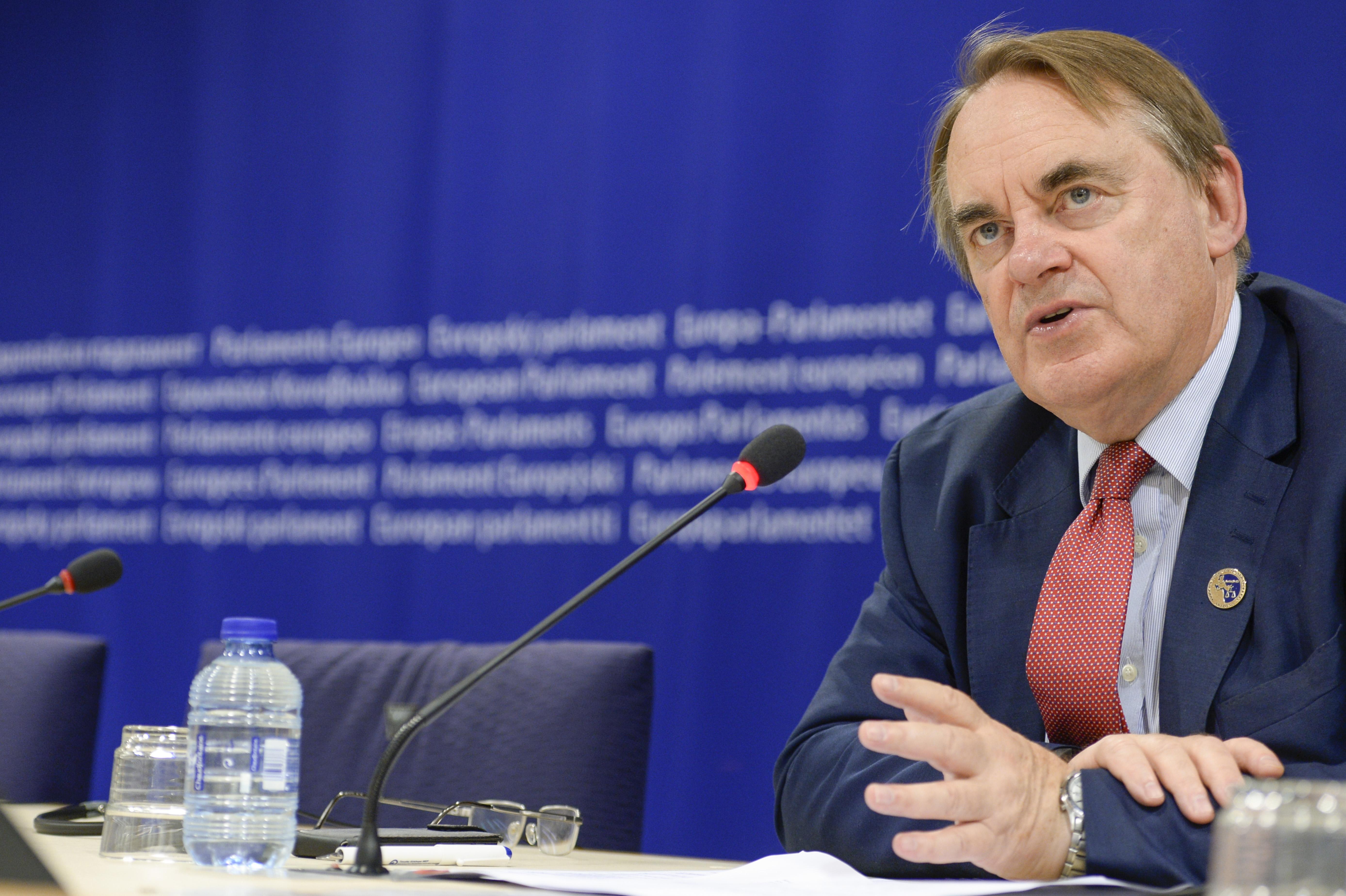 PNR rapporteur British MEP Timothy Kirkhope (EPP)