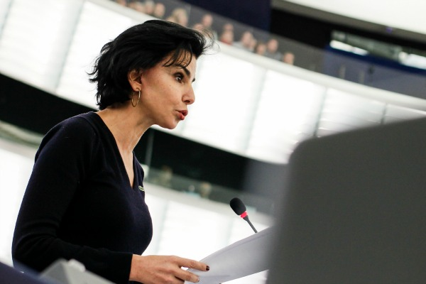 French MEP Rachida Dati (EPP), rapporteur on the report about preventing radicalisation