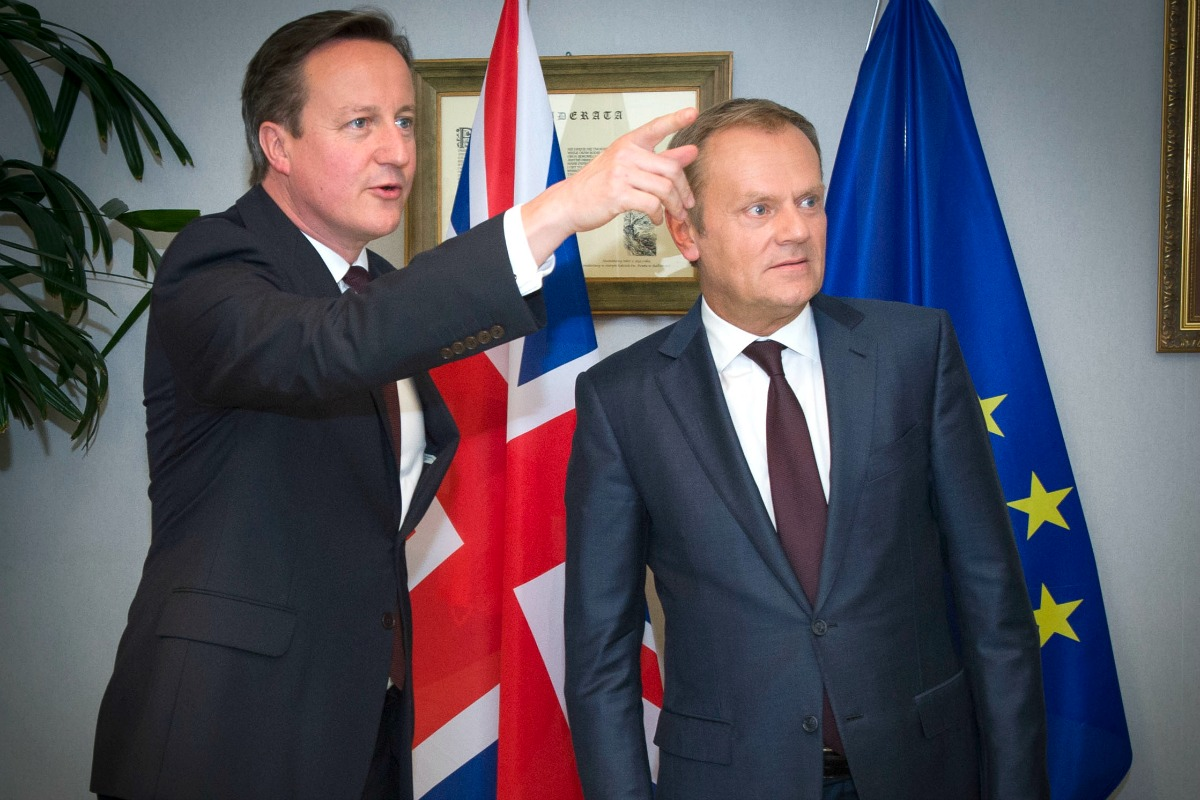 Cameron and Tusk