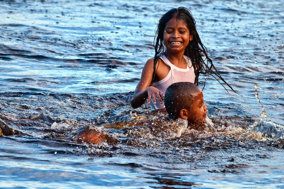 Arawak Amerind children