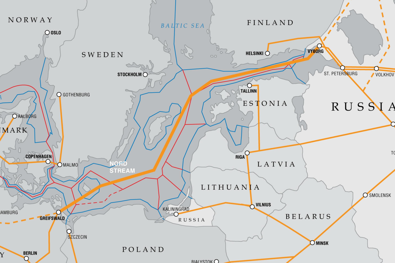 Germanyfavoured Nord Stream Risks Strangling Ukraine US Says - Maps ukraine to us