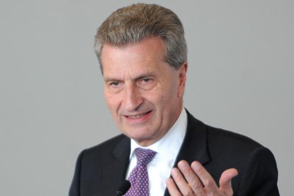 EU Digital Commissioner Günther Oettinger