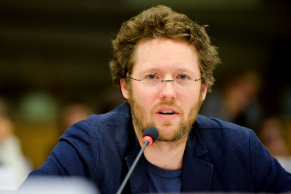 German MEP Jan Philipp Albrecht (Green), rapporteur on the data protection regulation