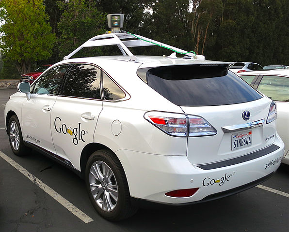 Google is developing and testing driverless cars in the US.