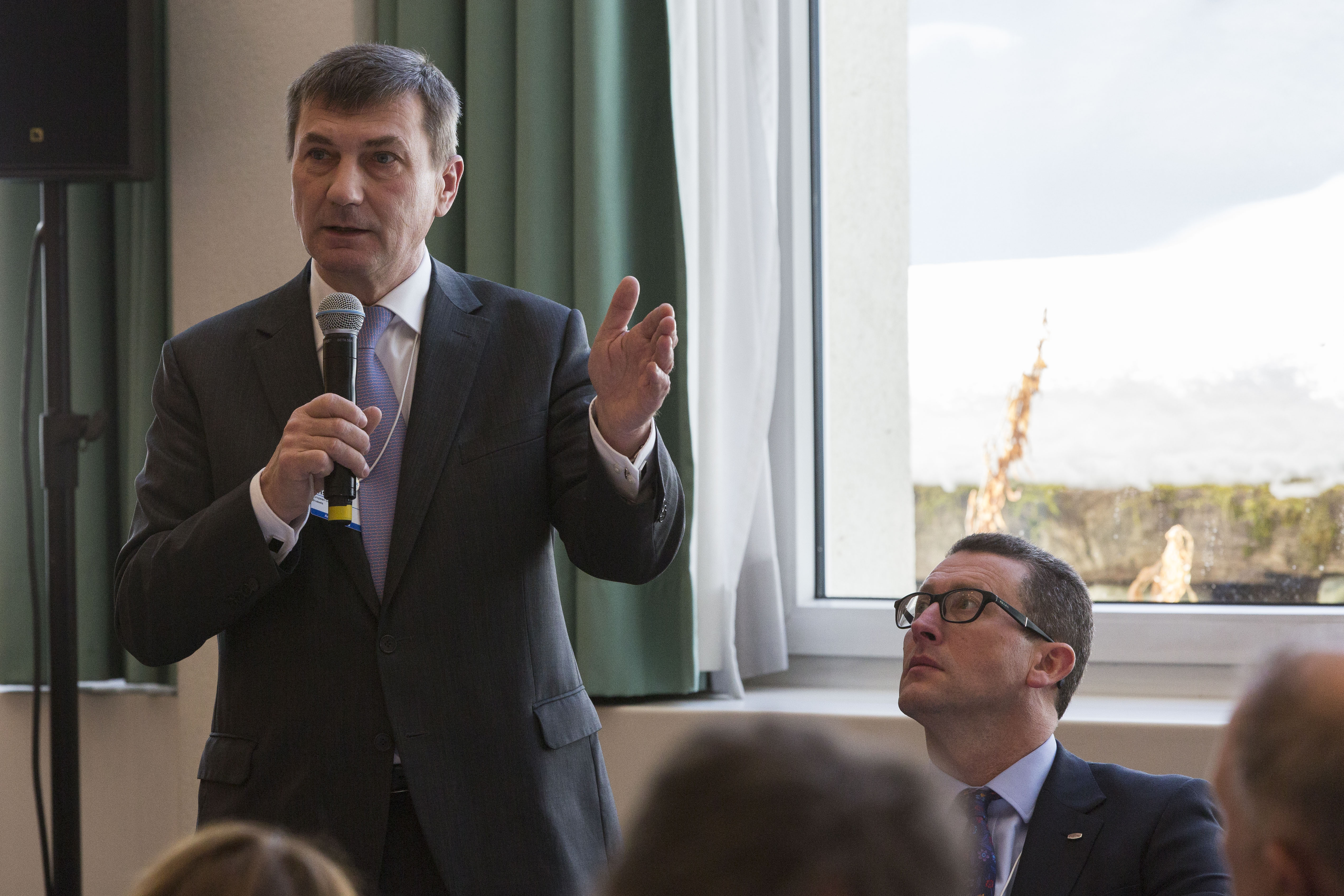 Commission Vice President Andrus Ansip