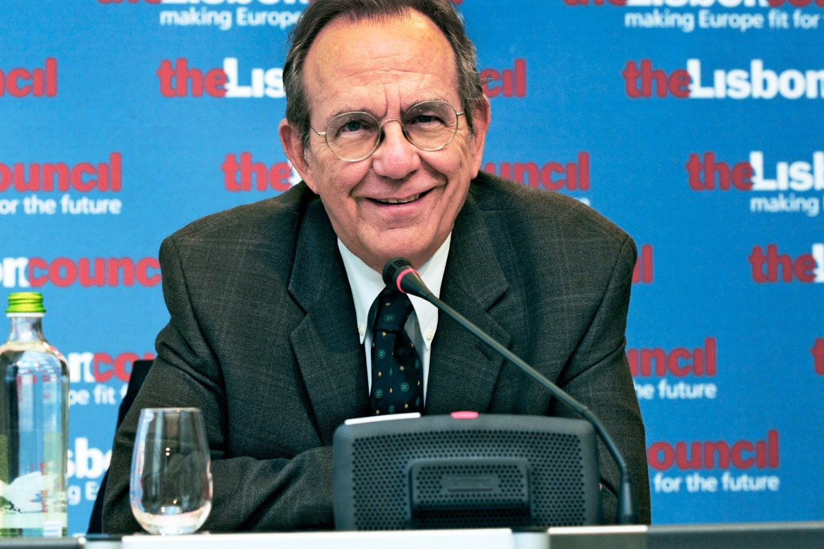 Pier Carlo Padoan at the Lisbon Council, 20 April 2011 [Photo: Lisbon Council / Flickr]