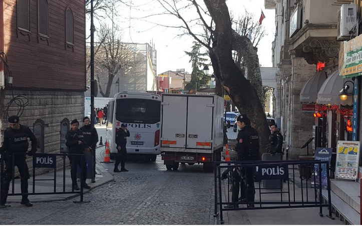 Ten were killed in a suicide bombing in Istanbul's Sultanahmet neighbourhood