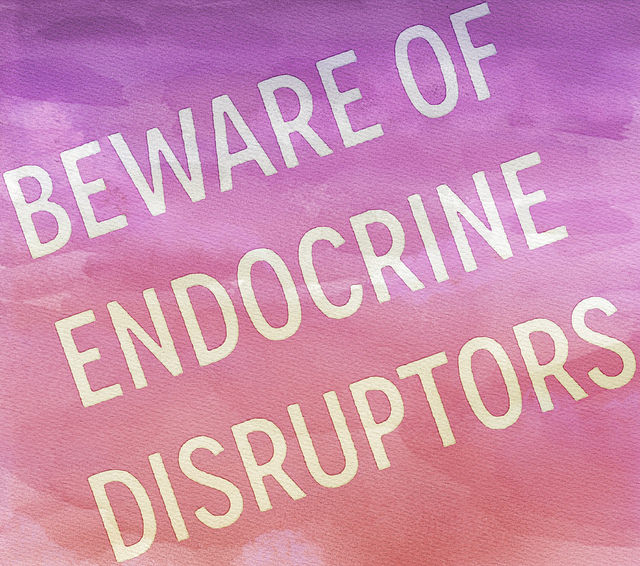 endocrine disruption Endocrine disruptors like bpa and phthalates lurk in everything from cleaning products to fragrances try to steer clear of these chemicals by following a few easy tips.
