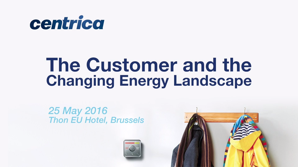 The customer and the changing energy landscape
