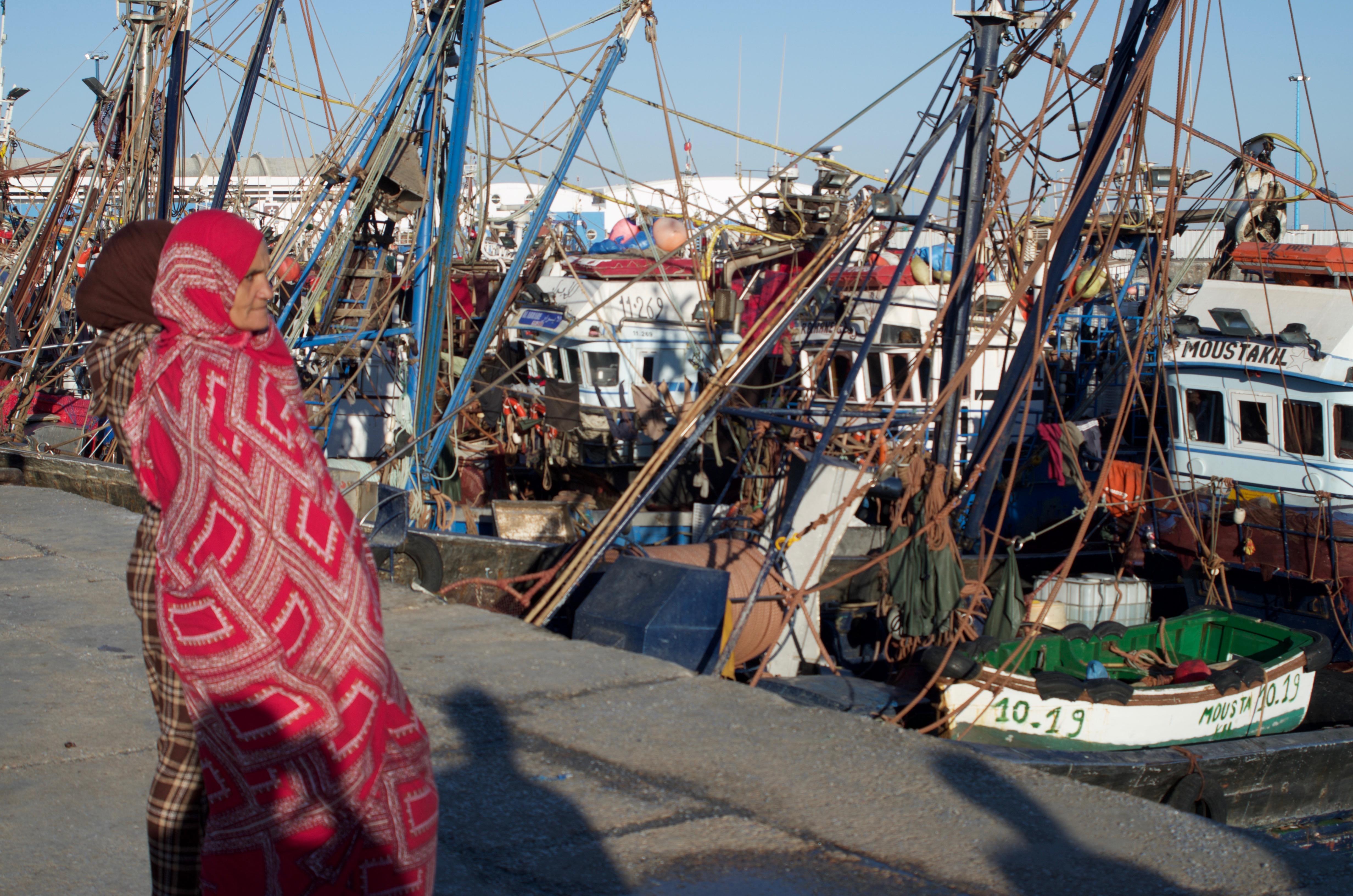 Laayoune port.