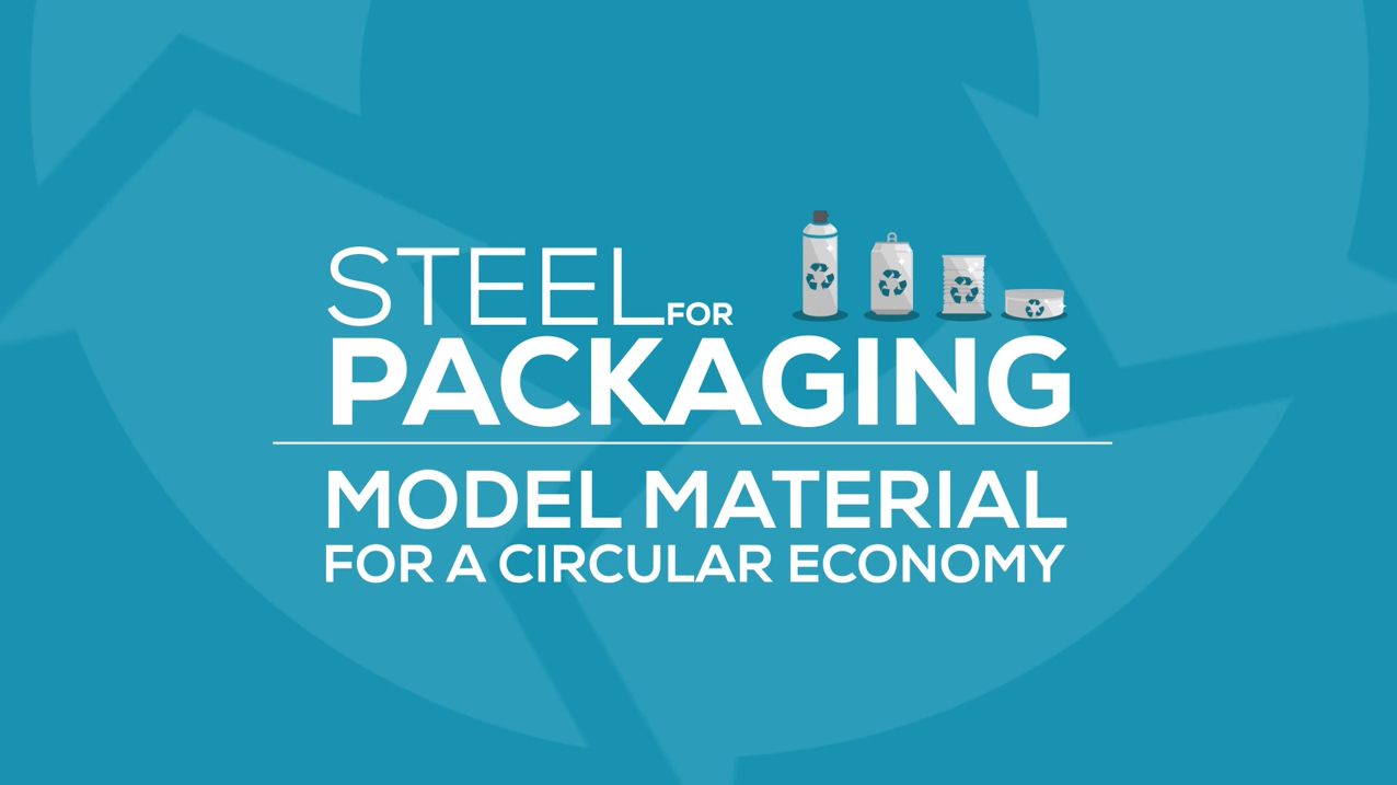 Steel for packaging
