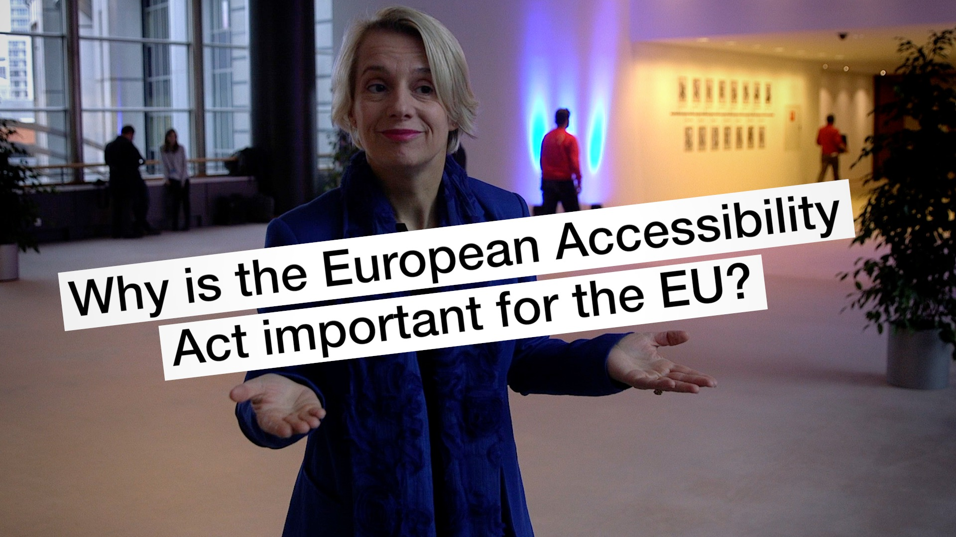 Helga Stevens European Accessibility Act