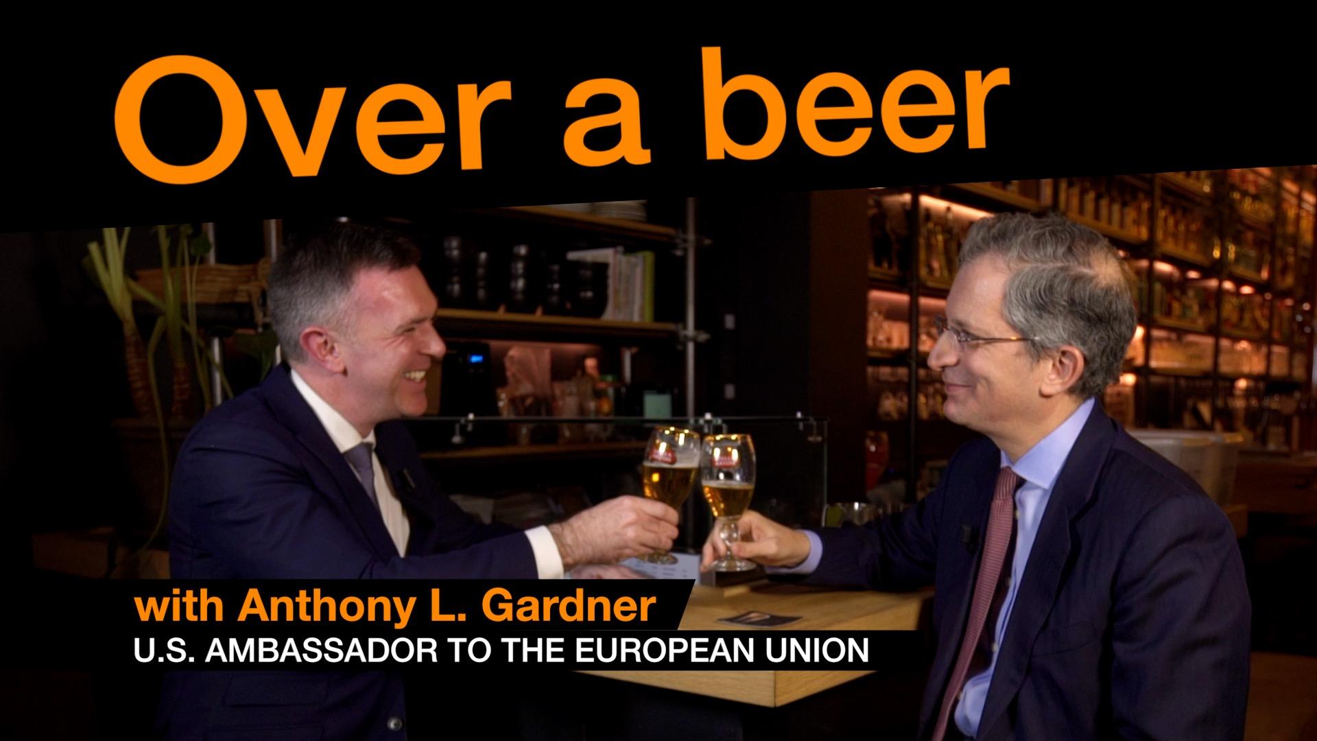 Anthony Gardner Over a beer