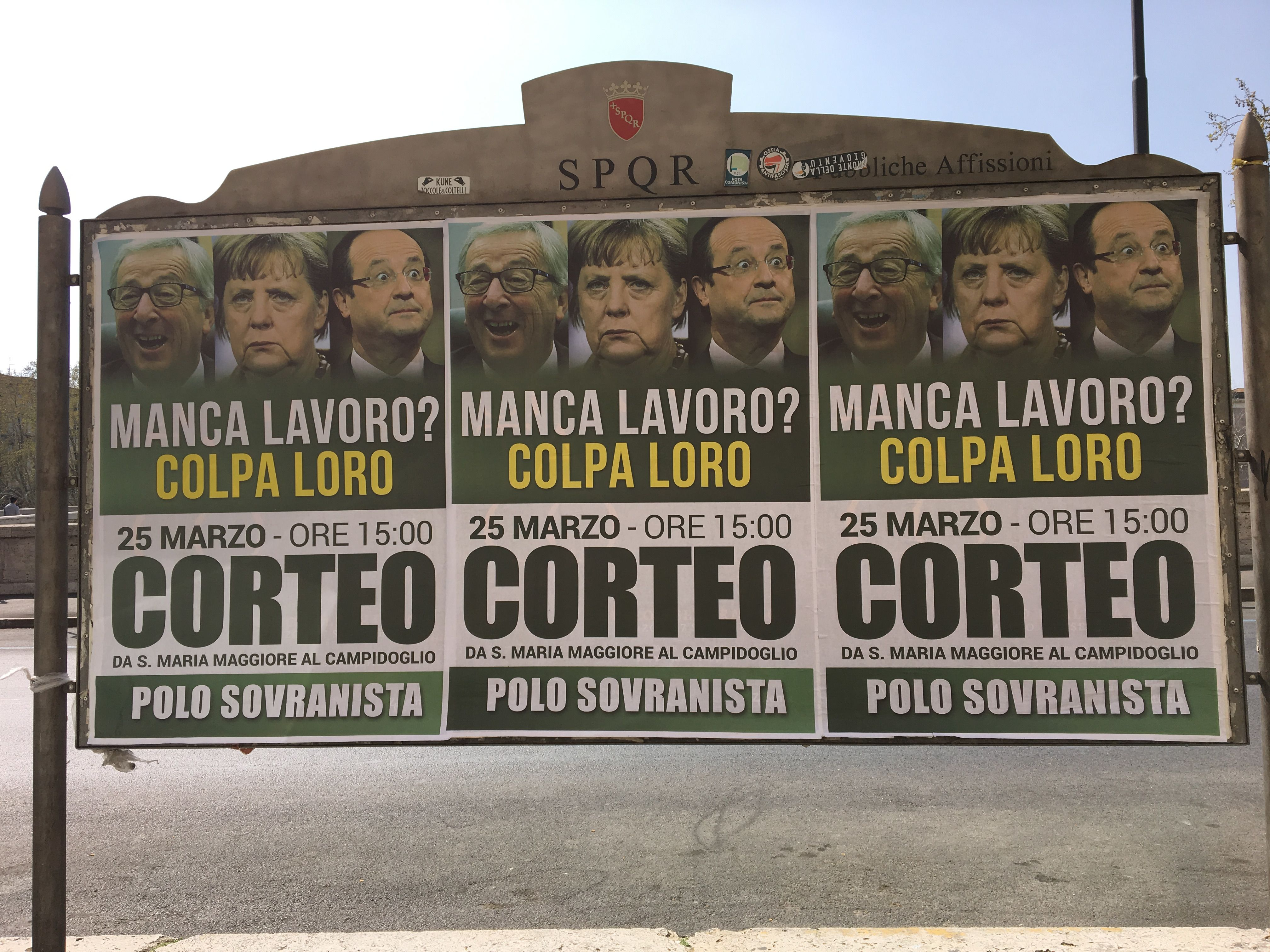 section avenir news citizens send strong anti nationalist message from rome