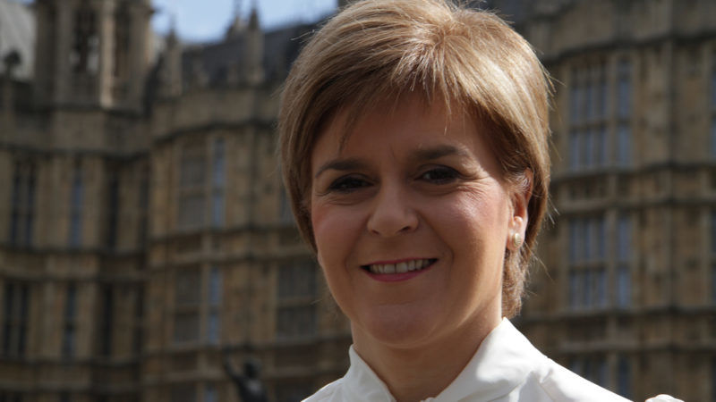 Sturgeon urges Scottish parliament to back referendum call