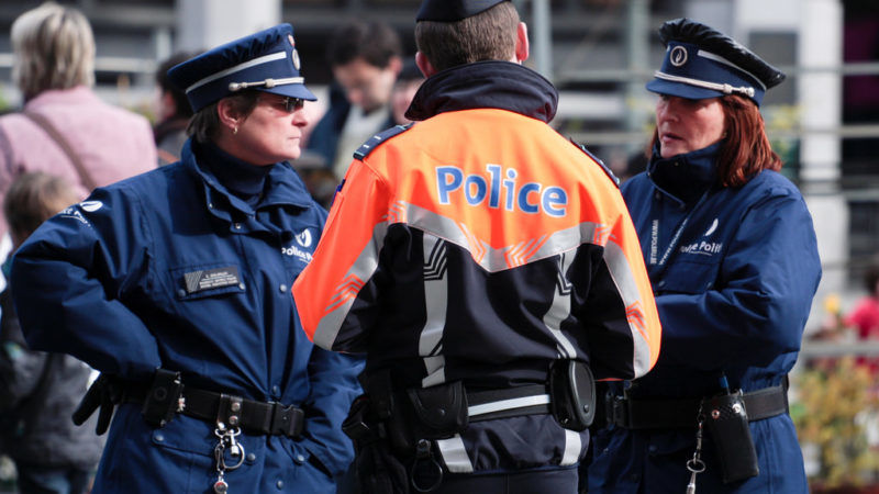 Man who drove at shoppers in Belgium faces terrorism charges
