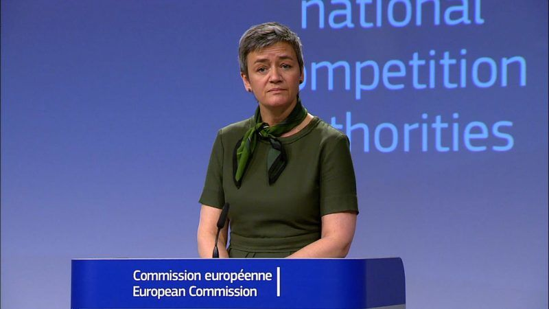 "Vestager: Dijsselbloem's comments are ""wrong"""