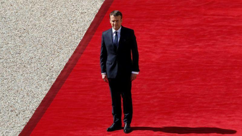 France swears in new leader: Emmanuel Macron
