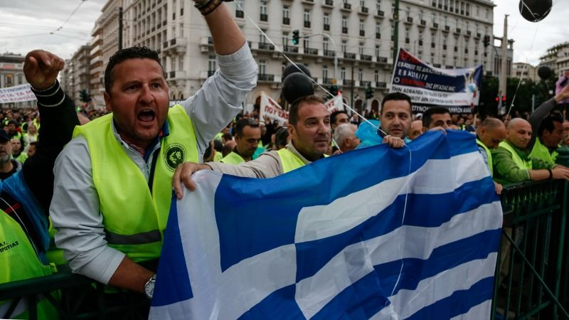 Greeks protests for 2nd day ahead of major austerity vote