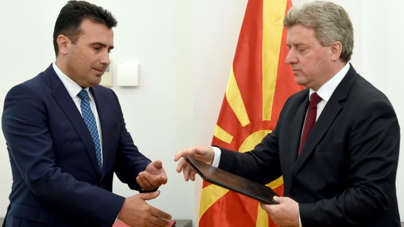 Macedonian President Gives Mandate for Coalition Government