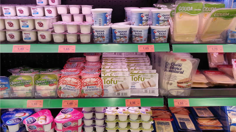 Non-dairy products in Europe banned from using word 'milk'