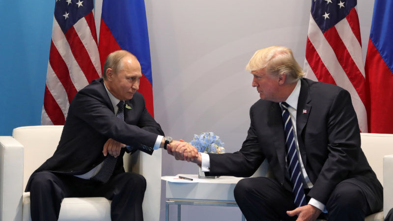 Trump insists he repeatedly 'pressed' Putin about Russian meddling
