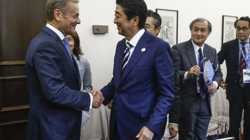 Japan, EU set to seal free trade pact