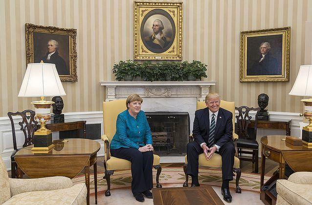 U.S. no longer a 'friend' in Merkel election program
