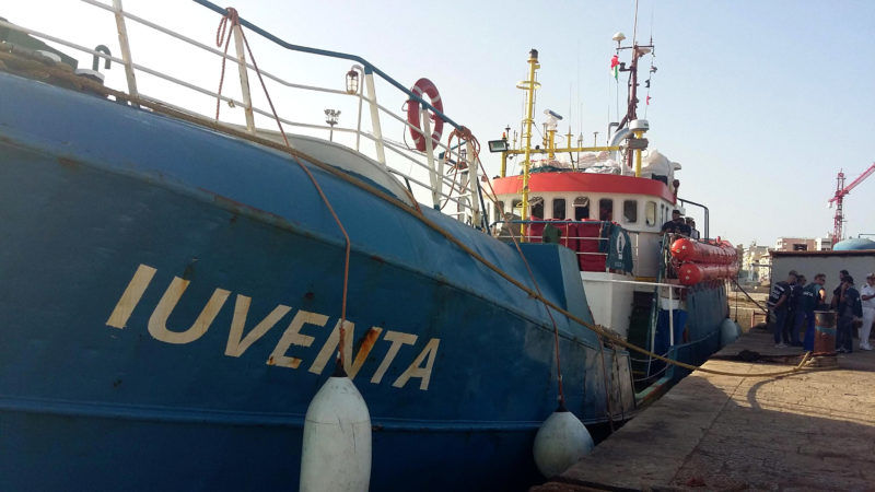 Another ship suspends migrant rescues citing Libyan threats