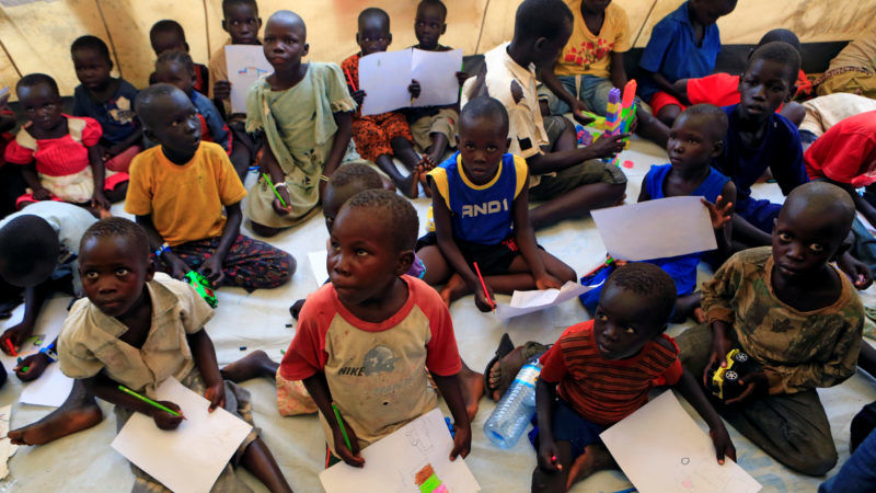 Uganda receives one million South Sudan refugees