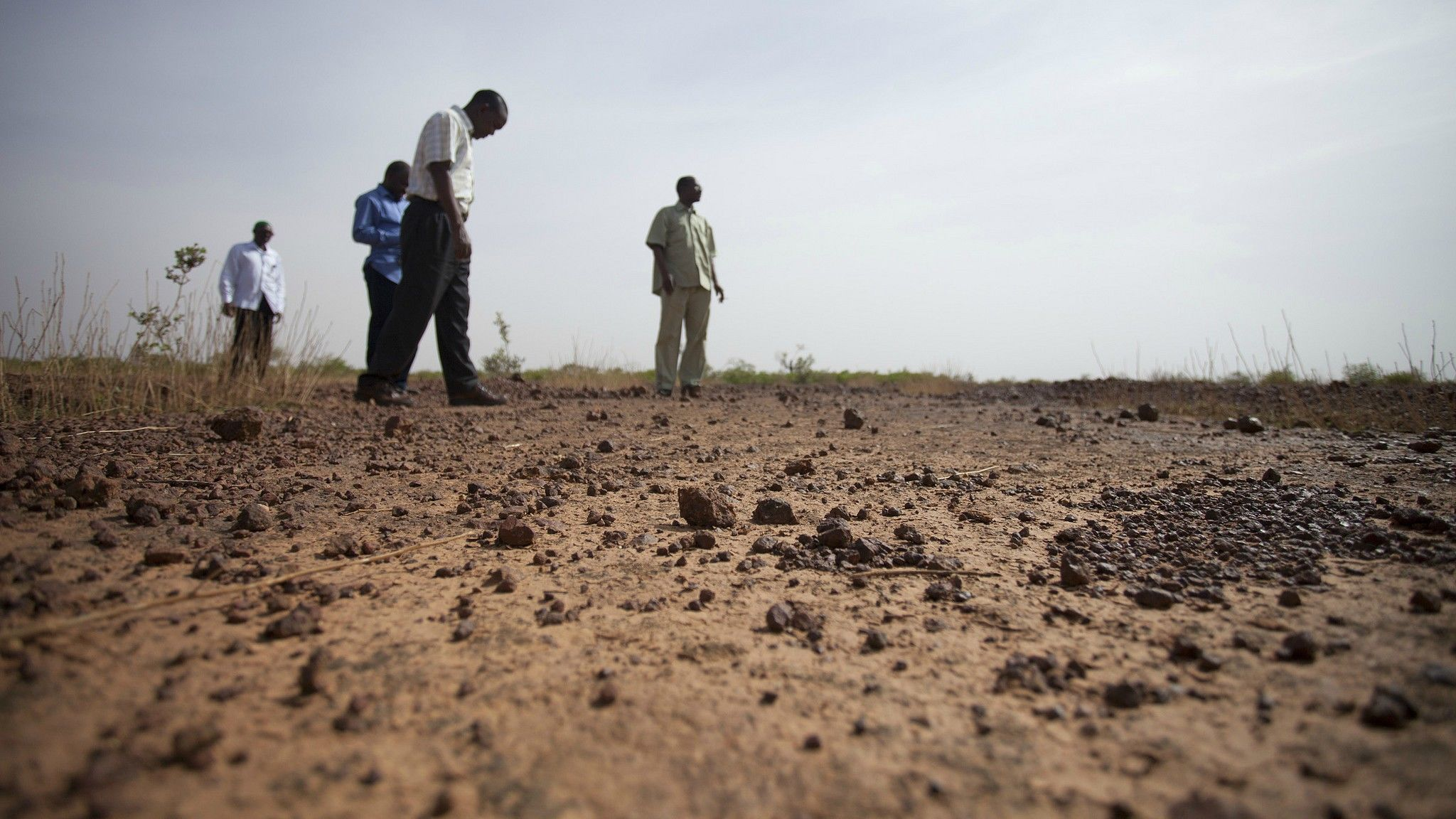Third of earth s soil is acutely degraded due to for Earth or soil