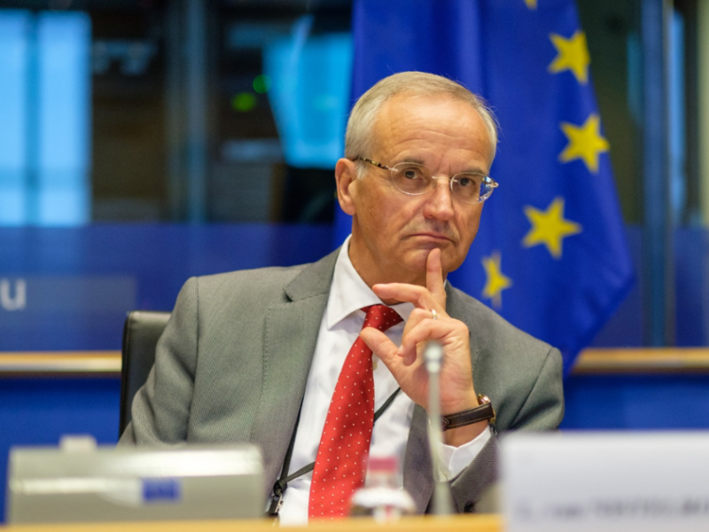 Lambert van Nistelrooij during the EPP-hearing on the 7th Cohesion Report, 8 November 2017.